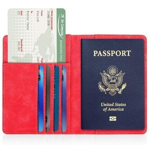 Other - Men's RED Map Passport holder *NWT*